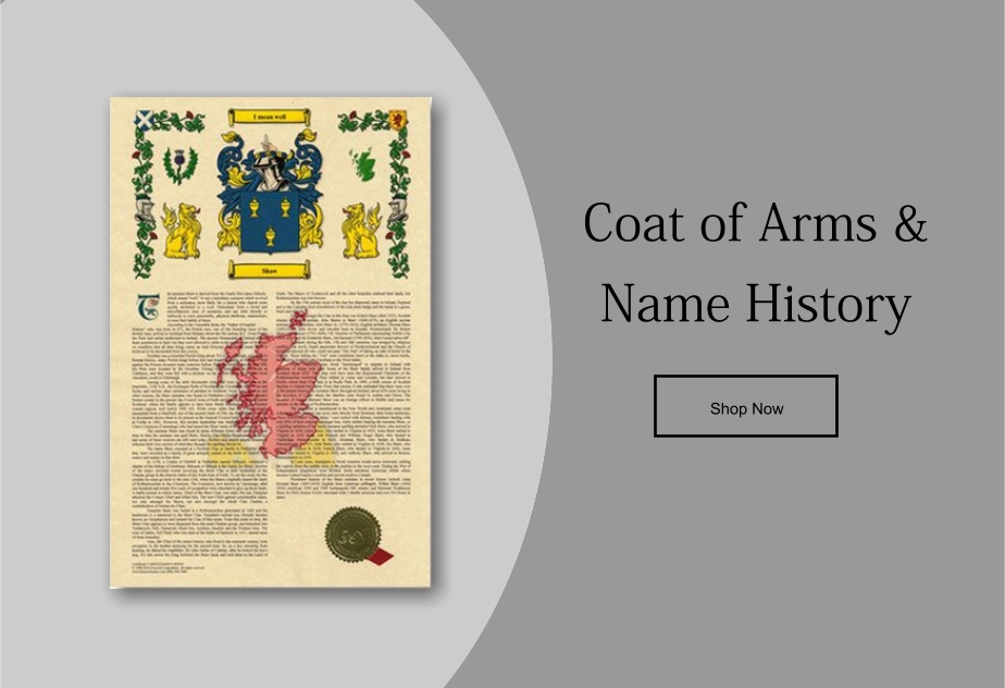 Coat of Arms & Family Name History