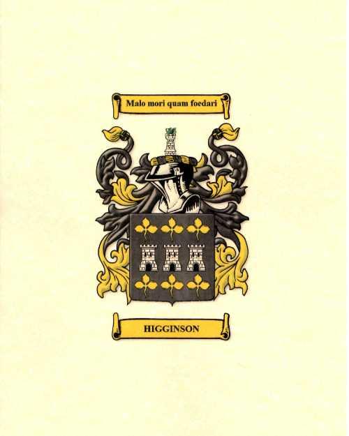 name crest print