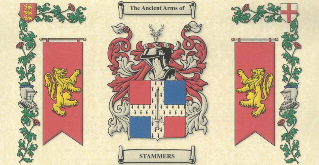 Stammers family coat of arms