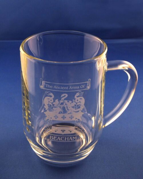 Mancunian mug with family crest